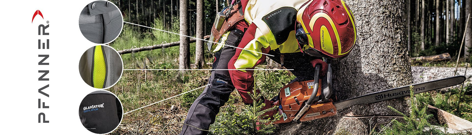 Pfanner Protective Chainsaw and Workwear Clothing and Accessories